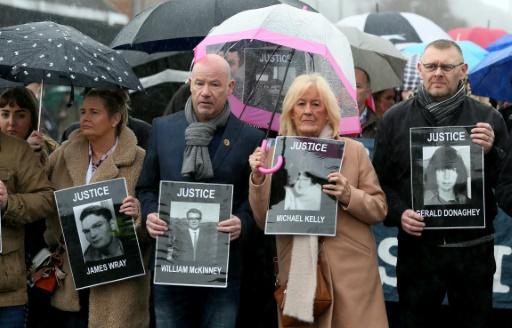 Irlande du Nord: un ex-soldat britanniquepoursuivi pour meurtres lors du