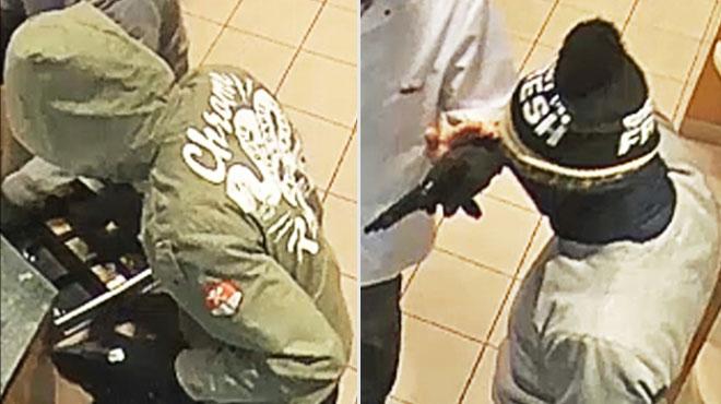 Vol à main armée dans une pharmacie de Châtelet: avez-vous vu ces deux individus? (photos)