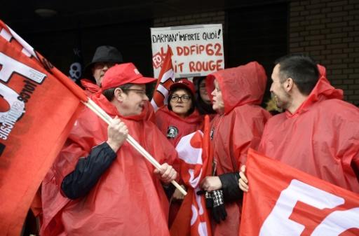 Dordogne : les agents des Finances publiques, inquiets des projets de réformes, manifestent