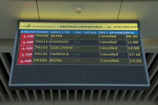 Sous la menace du cyclone Idai, le Mozambique suspend ses vols intérieurs