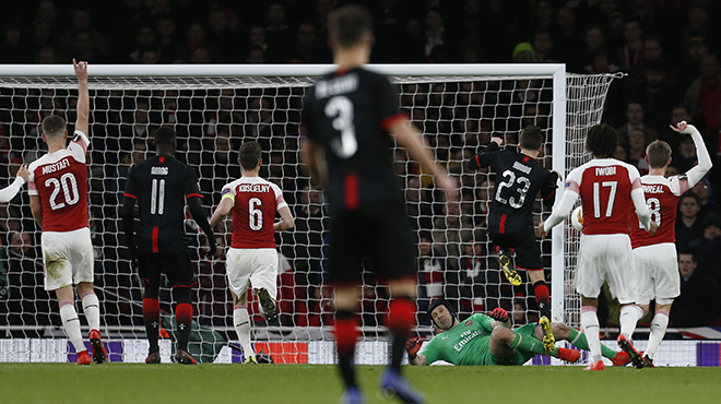 Europa League: ascenseur émotionnel pour Rennes, sorti par Arsenal