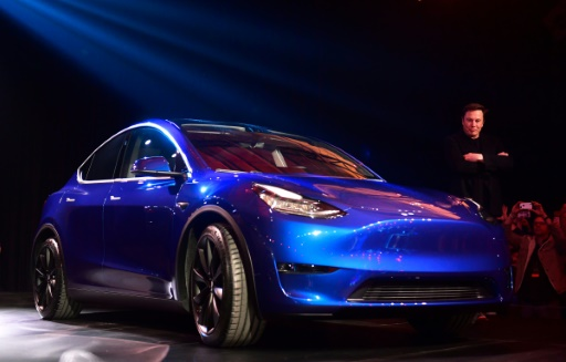 Tesla dévoile son Model Y, un SUV sept places à 40.000 dollars