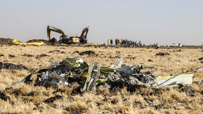 Crash du Boeing d'Ethiopian Airlines: