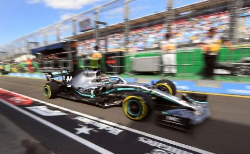 GP d'Australie: Hamilton le plus rapide aux  Essais libres 1
