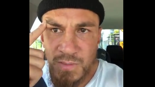 Les larmes d'un rugbyman néo-zélandais après l'attaque des mosquées: