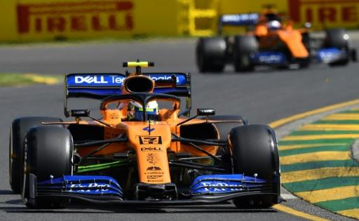 GP d'Australie: le logo d'un cigarettier retiré des McLaren