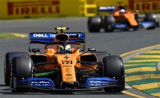 GP d'Australie- le logo d'un cigarettier retiré des McLaren