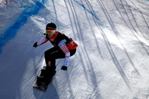Snowboardcross: Chloé Trespeuch 2e à Veysonnaz