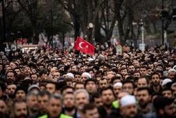 Attentats à Christchurch - Funérailles symboliques à Istanbul en hommage aux victimes