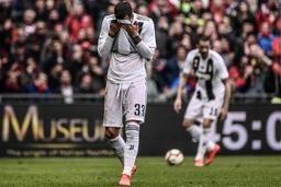 La Juventus Turin battue pour la première fois de la saison en championnat