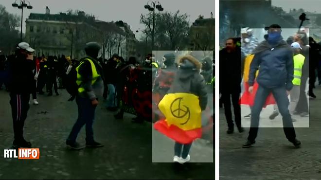 Qui sont les casseurs belges qui ont saccagé les Champs Élysées? Notamment des Liégeois qui