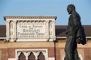 Italie- la maison de retraite Casa Verdi, plus belle oeuvre du compositeur