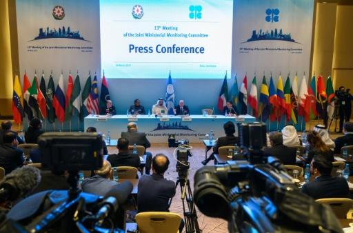 L'Opep ne décidera qu'en juin d'une éventuelle poursuite de l'accord Opep+ pour soutenir les prix