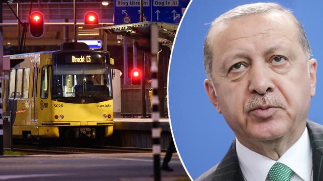 Recep Erdogan réagit après la fusillade à Utrecht