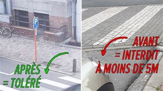 Mario ne reçoit pas un, mais deux PV pour s'être garé trop près d'un passage piétons- Pourquoi un policier s'est-il acharné sur ma voiture? 5