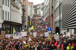 Une circulaire pour protéger les jeunes qui marchent pour le climat