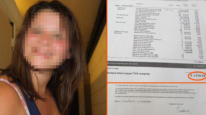 Des voleurs utilisent l'identité d'Adeline pour s'abonner et recevoir des cadeaux, un huissier lui réclame 2.000€: