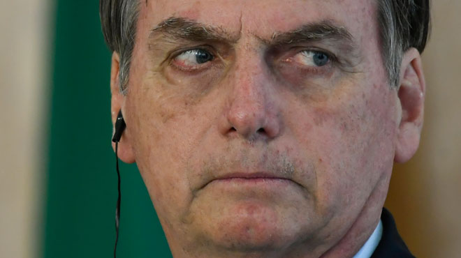 La veille de sa rencontre avec Trump, Bolsonaro se rend... au siège de la CIA