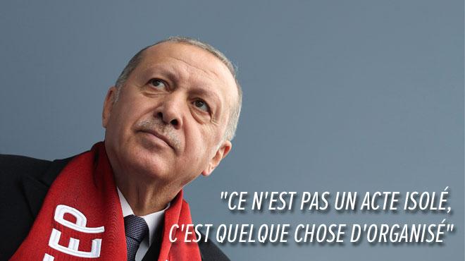 Pour Erdogan, l'attentat en Nouvelle-Zélande vise en fait la Turquie: