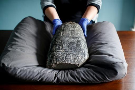 Le Royaume-Uni rend à l'Irak une stèle de 3.000 ans