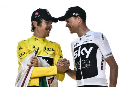 Cyclisme: de Sky à Ineos, Froome et Thomas changent de maillot