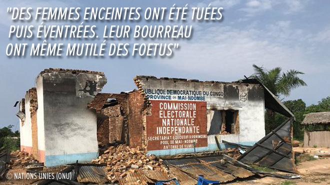 535 personnes, dont des enfants, massacrées les 16 et 17 décembre à Yumbi en RDC: la tuerie