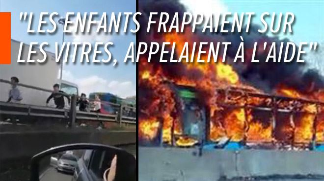On a évité un carnage hier en Italie- un chauffeur a tenté de tuer les 50 enfants de son bus (vidéo) 1