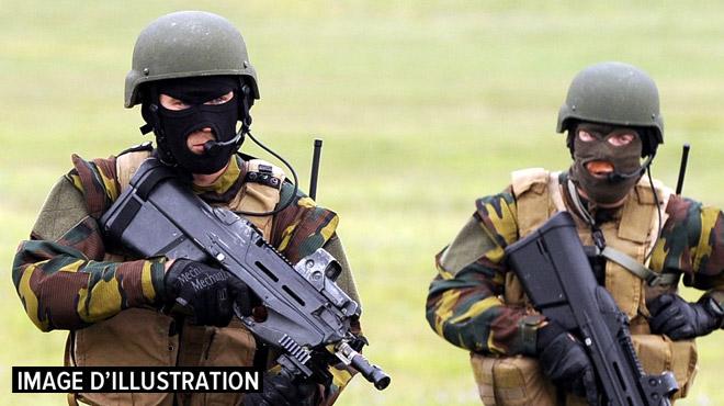 Des exercices militaires suscitent la frayeur d'un habitant à Nandrin