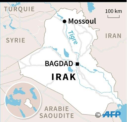 Naufrage à Mossoul: le bilan monte à 54 morts et 28 disparus