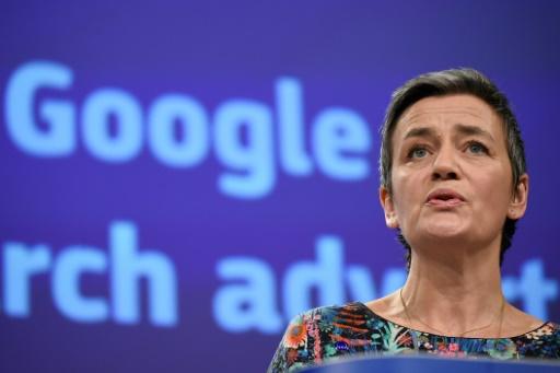 Vestager, bête noire de la Silicon Valley, sur les rangs pour succéder à Juncker