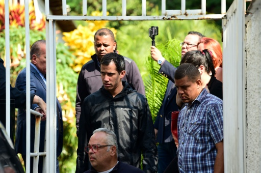 Venezuela: le bras droit de Juan Guaido accusé de