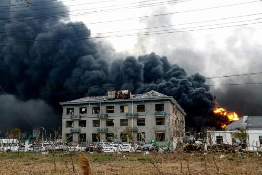 L'explosion dans une usine chimique en Chine a fait 47 morts: