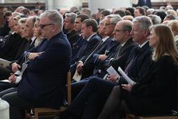 Plusieurs personnalités ont dit au revoir à au cardinal Godfried Danneels
