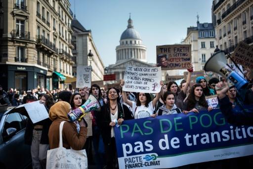 A Paris ou Strasbourg, nouvelles manifs de jeunes pour le climat
