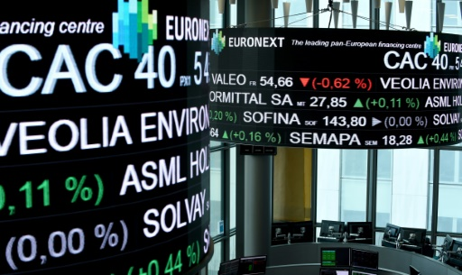 Inquiète pour l'économie européenne, la Bourse de Paris dégringole (-2,03%)