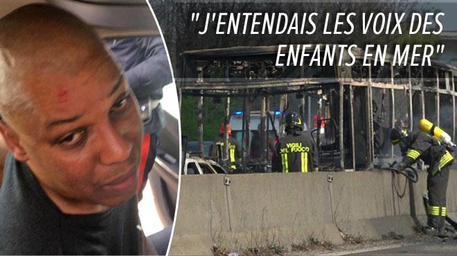 Le chauffeur qui avait tenté de tuer les 50 enfants de son bus en Italie s'explique: