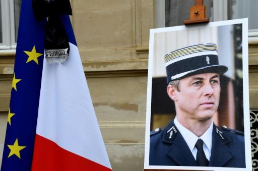 Un an après l'attentat de Trèbes : Philippe promet de poursuivre le
