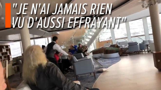 Le paquebot en difficulté en Norvège est arrivé à un port de refuge après une évacuation spectaculaire