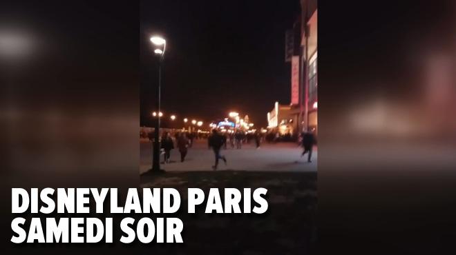 Mouvement de panique à Disneyland Paris: voici ce qui s'est passé