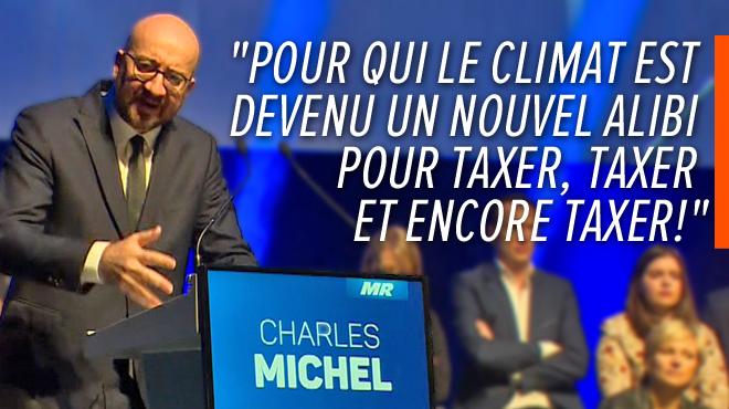 L'attaque frontale de Charles Michel contre