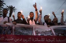 Maroc: nouvelle manifestation de milliers d'enseignants à Rabat