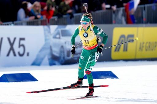 Biathlon: Dorothea Wierer remporte le gros Globe de cristal