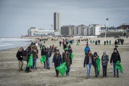 Opération annuelle de nettoyage à la Côte: une tonne et demi de déchets ramassés