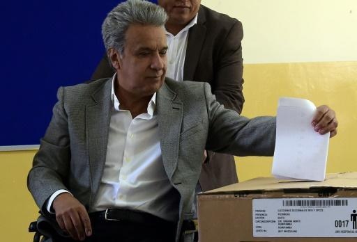 Equateur: élections locales, l'ex-président Correa accusé de déstabilisation