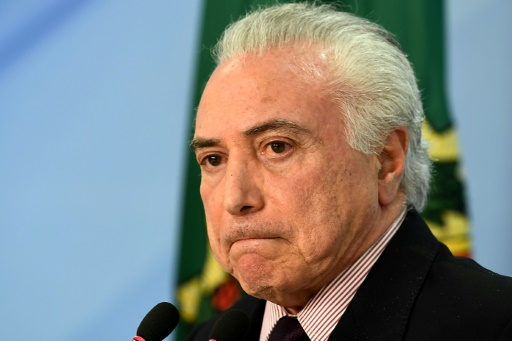 Brésil : l'ex-président Temer sort de prison, 4 jours après son arrestation