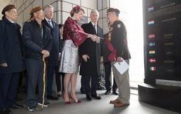 Visite d'Etat en Corée du Sud - Le Roi et la Reine rendent hommage aux soldats belges tombés pendant la guerre de Corée