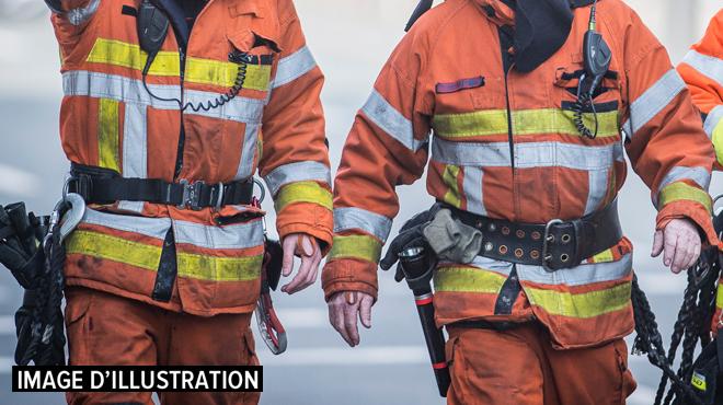 Spa: trois personnes sorties de justesse d'un immeuble en flammes