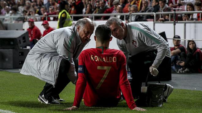 Cristiano Ronaldo se blesse mais se veut rassurant, la Juventus tremble