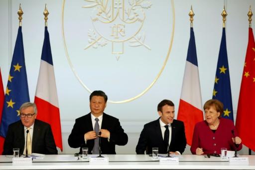 Paris et Pékin en faveur d'un