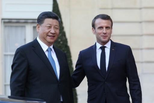 Macron et Xi pour un